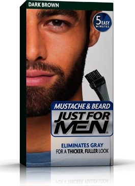 Just for Men Mustache & Beard Gel Dark Brown