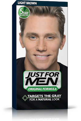 Just for Men Original Formula Shampoo-in Haircolor Light Brown