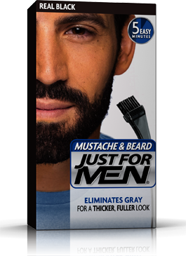 Just For Men Mustache & Beard Gel Black